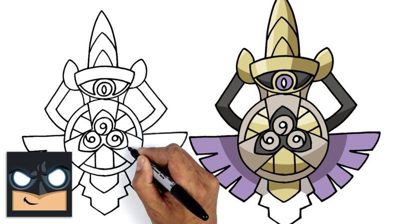 Come disegnare Pokemon | Aegislash || Generazione 6