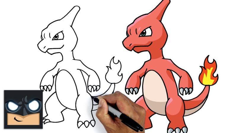 Come disegnare Pokemon | Charmeleon