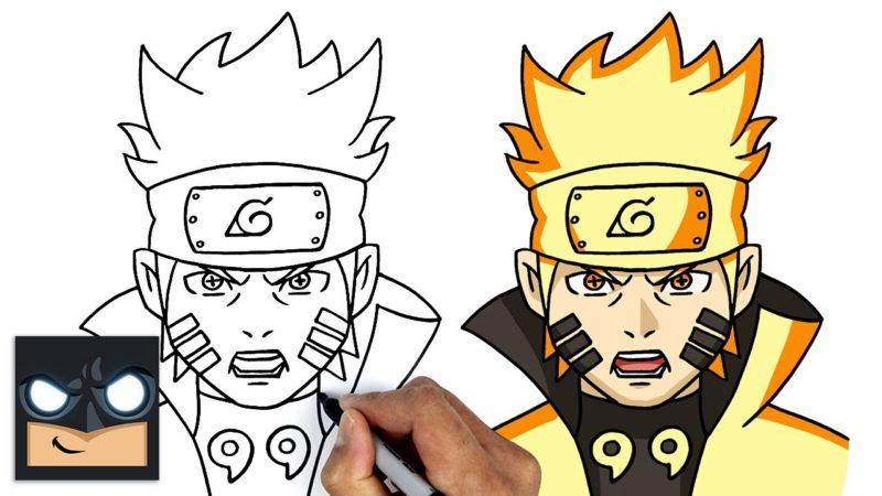 Come disegnare Naruto | Sei Vie Modalità Saggio