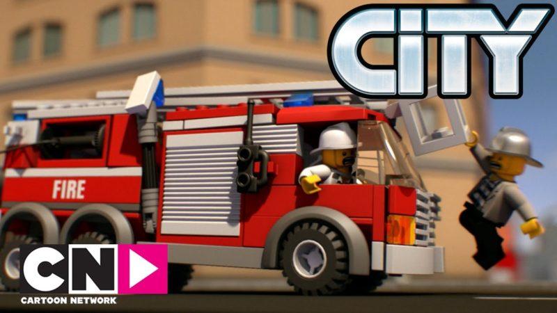 Inseguimento rovente | Lego City: Mini Movies | Cartoon Network