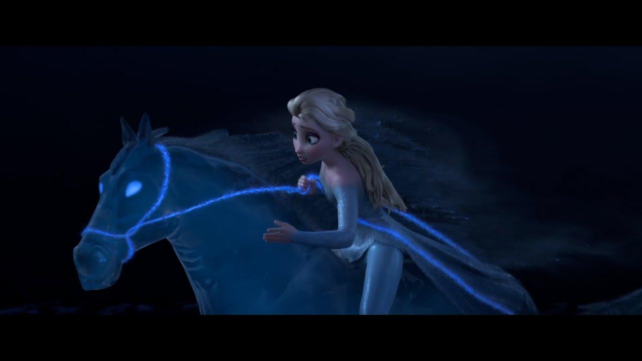 Frozen 2 – Il Segreto di Arendelle   Clip dal Film   Elsa doma Nokk