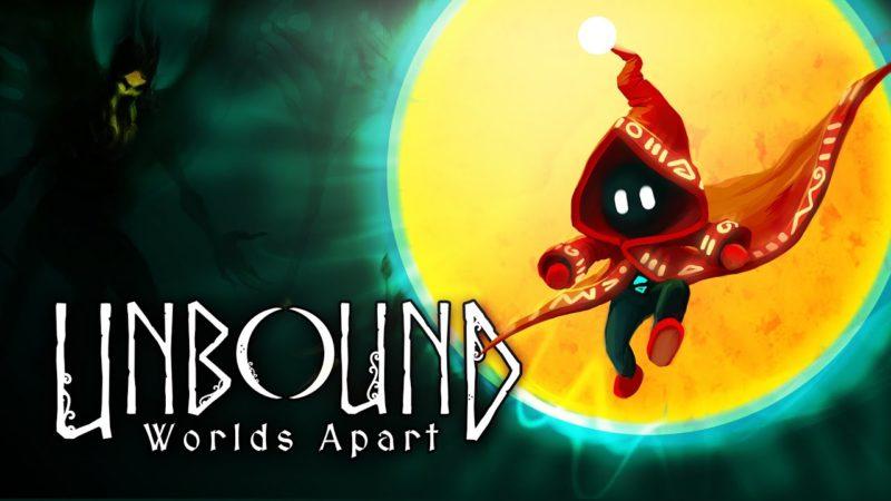 Unbound: Worlds Apart  porta la piattaforma di puzzle disegnata a mano su Nintendo switch