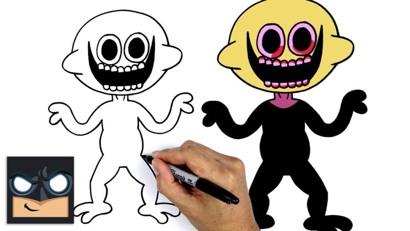 Come disegnare Lemon Demon | Friday Night Funkin