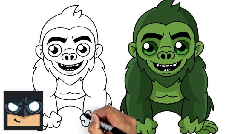 Come disegnare Fortnite | Beast Boy Monkey Skin