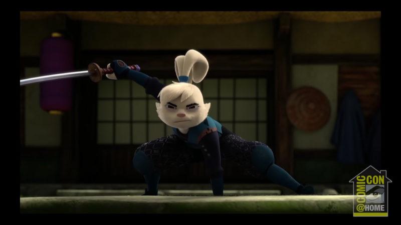 """Al Comic-Con@Home un anteprima di """"Samurai Rabbit"""""""