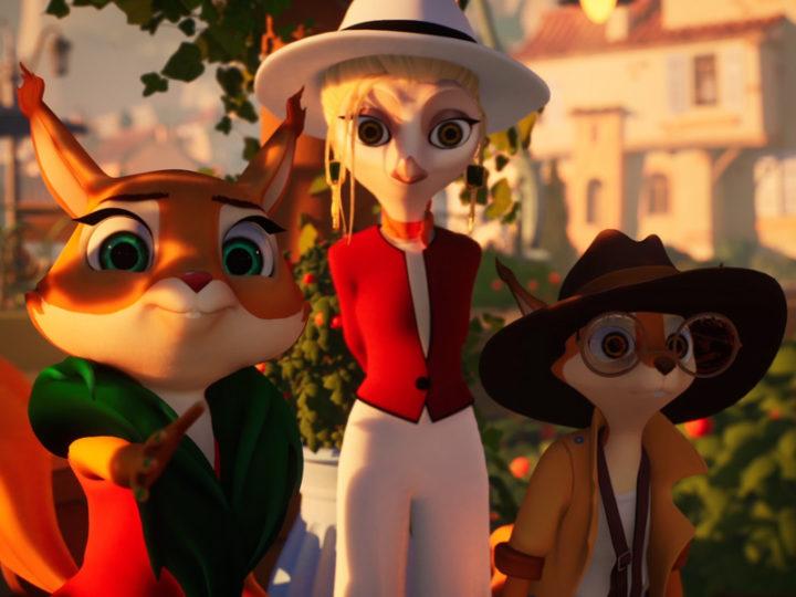 """La serie animata poliziesca per bambini """"I segreti di Honey Hills"""""""
