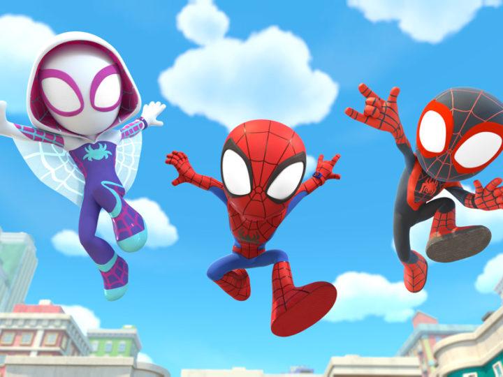 """""""Marvel Spidey e i suoi fantastici amici"""" la serie animata di supereroi per bambini"""