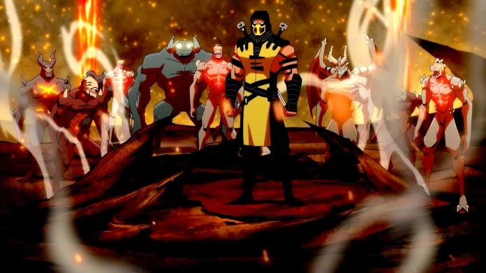 Mortal Kombat Legends: Battle of the Realms 애니메이션