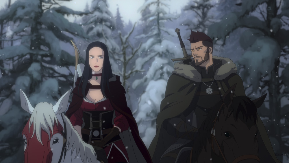 The Witcher: L'incubo del lupo