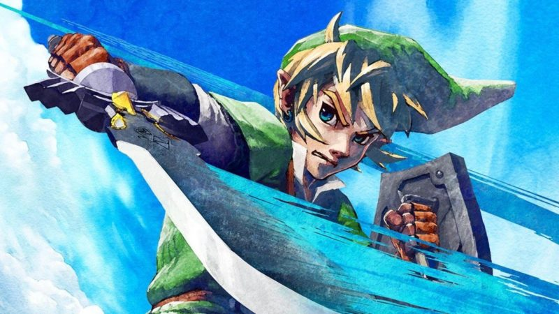 Il videogioco The Legend Of Zelda: Skyward Sword