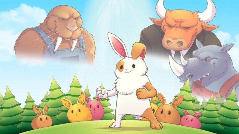 Barry The Bunny il videogioco 2D economico e divertente
