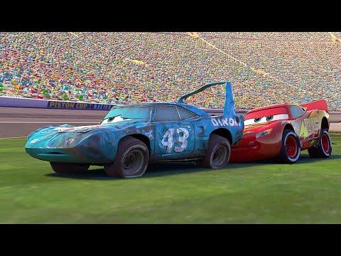 """Guarda il video di Cars """"McQueen aiuta il Re """" Pixar Cars   Disney Junior IT"""