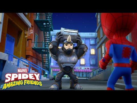Guarda il video Marvel Spidey e i suoi fantastici amici –  Sogni d'oro Rhino