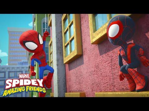 """Guarda il video Marvel Spidey e i suoi fantastici amici """"Allenare i poteri"""""""
