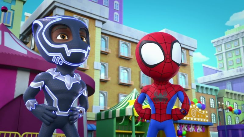 """Guarda il video Marvel Spidey e i suoi fantastici amici """"Un furioso Rhino"""""""