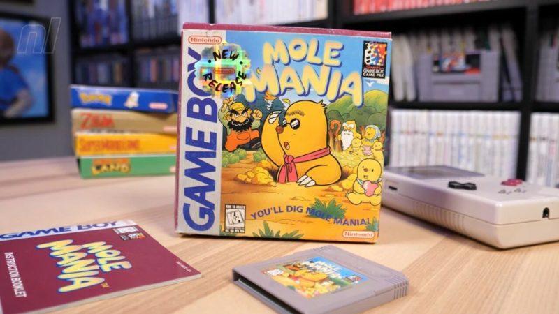 Videogioco vintage per Game boy Mole Mania di Miyamoto – Mole Mania