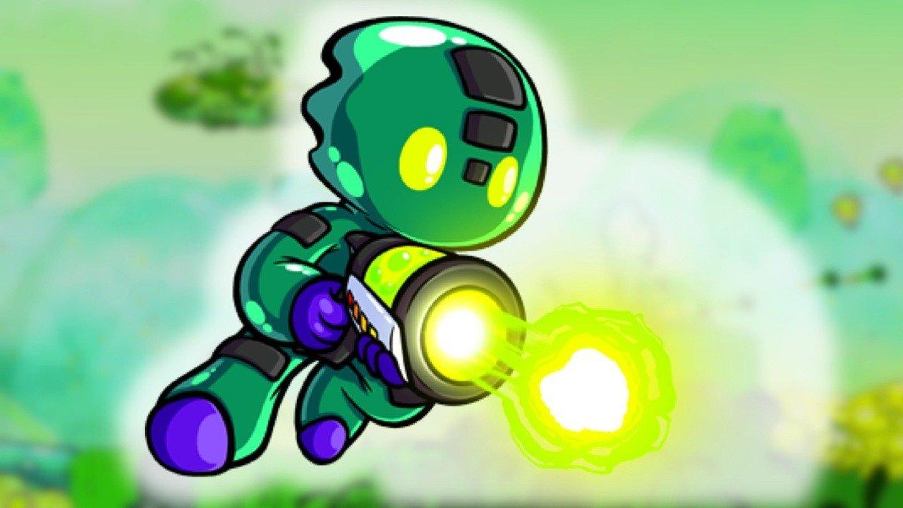 7 Horizons un videogioco di piattaforma in stile fumetto