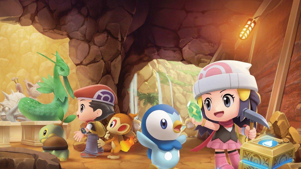 """Pokémon Brillant Diamond  e la nuova mappa """"Grand Underground"""" di Shining Pearl sembra epica"""