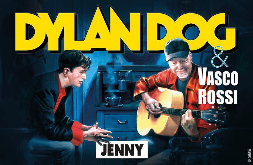 Fumetti Bonelli: Dylan Dog incontra Jenny di Vasco Rossi