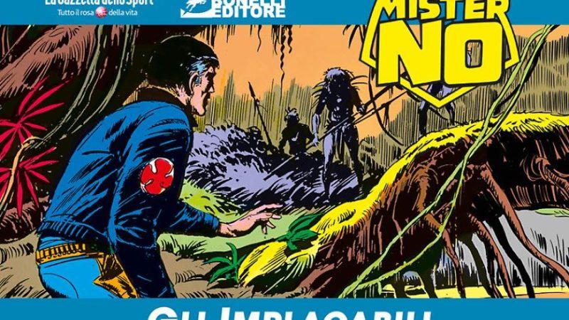 I fumetti di Mister No in edizione cronologia a colori