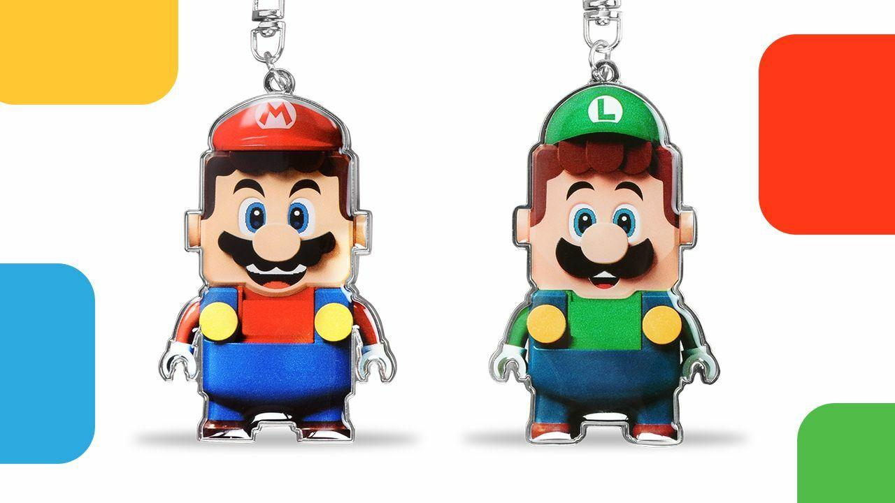 Nintendo regala i portachiavi LEGO Mario come parte della nuova partnership LEGO VIP