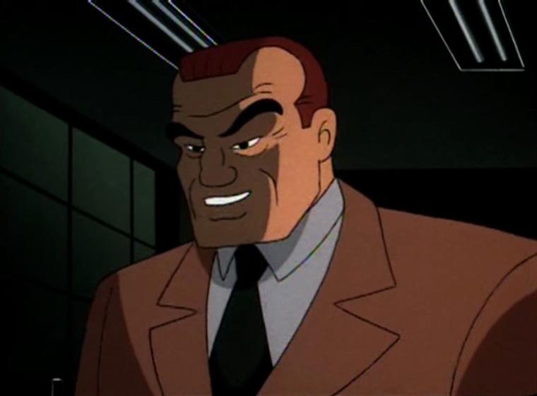 Batman: La serie animata (Roland Daggett)