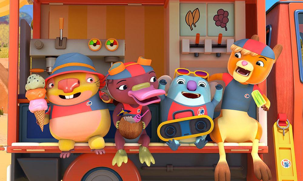 100% Wolf e Kangaroo Beach di Screen Australia fra le serie animate per bambini