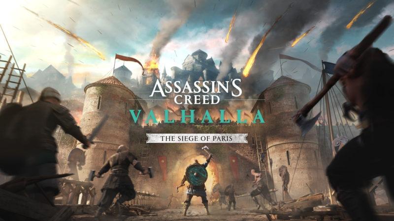 Il videogioco Assassin's Creed Valhalla L'assedio di Parigi