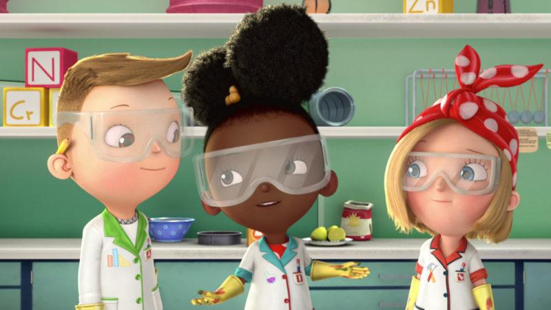 Il trailer di Ada la scienziata porta la formula del divertimento su Netflix
