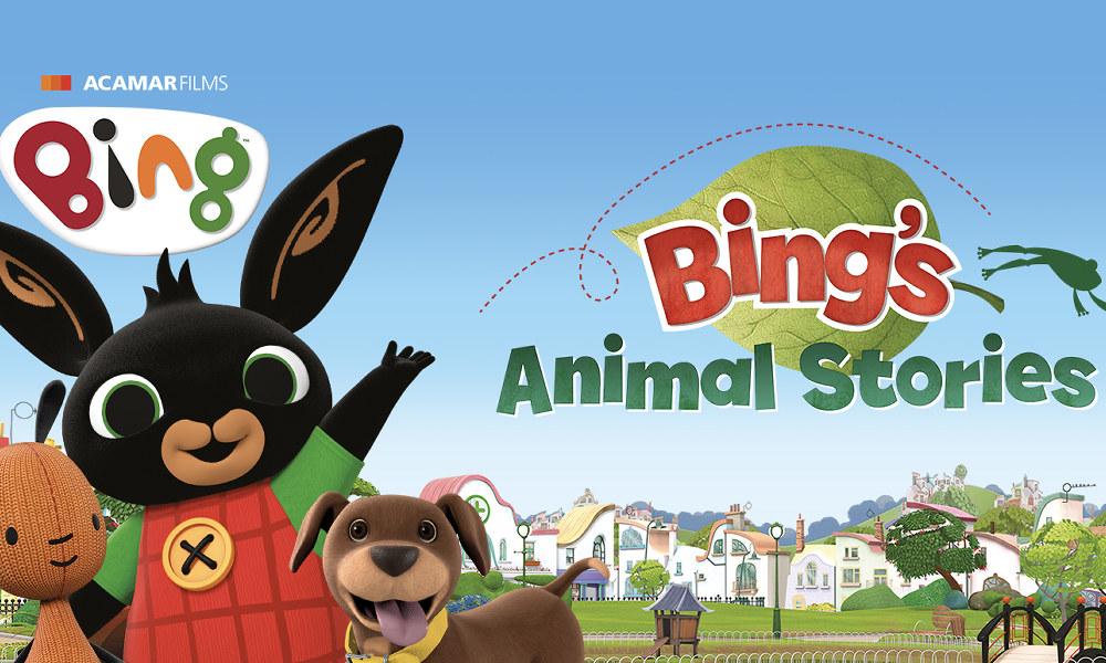 """Il film di animazione """"Storie di animali di Bing"""" al cinema"""