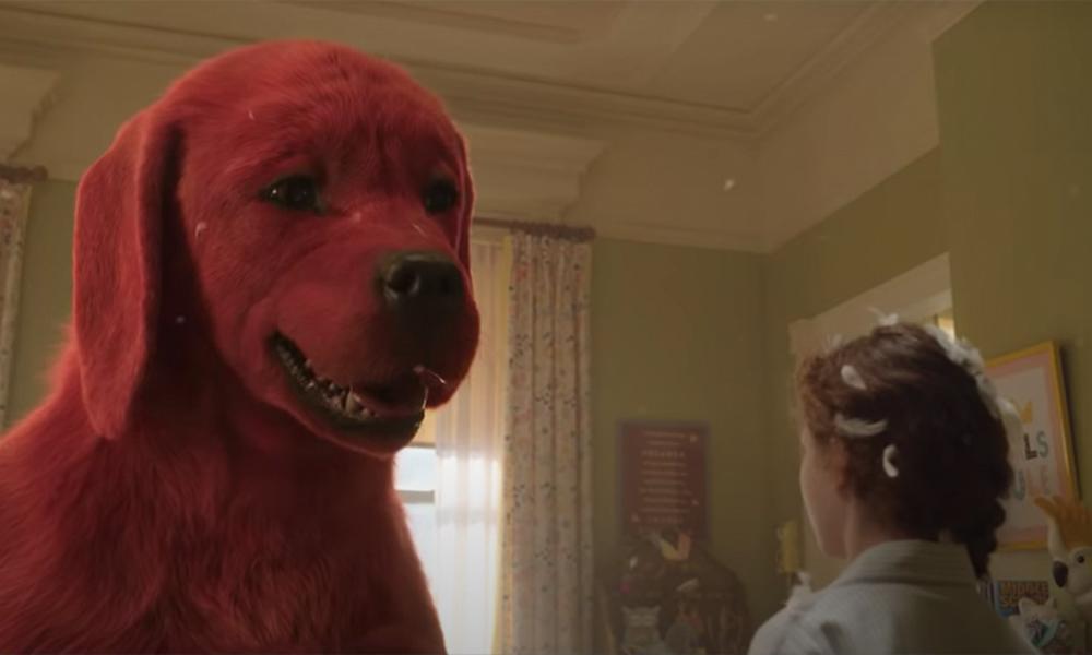Clifford il grande cane rosso ritarda per le nuove preoccupazioni da COVID