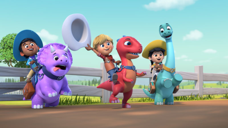 Dino Ranch la nuova serie animata su Cartoonito