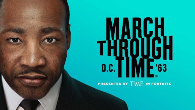 Il videogioco March Through Time su Martin Luther King