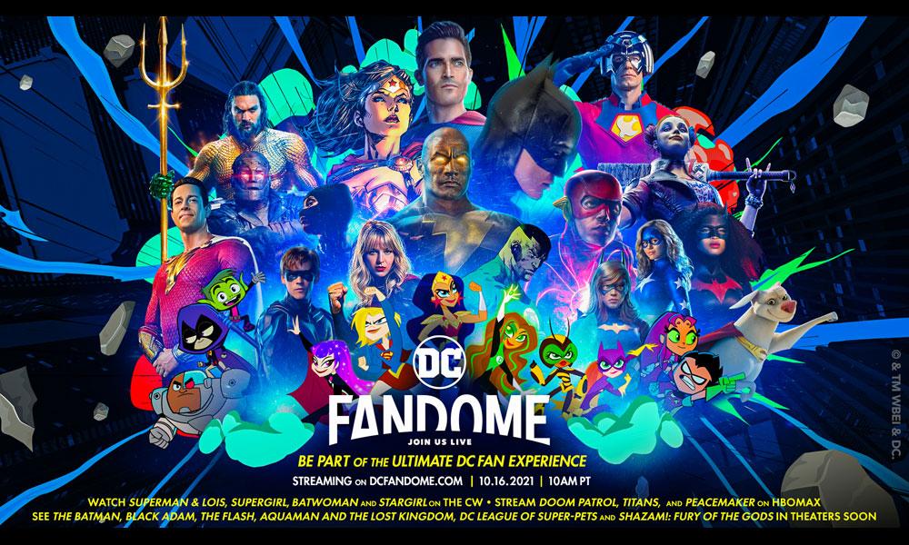 DC FanDome ritorna con eventi virtuali per fan di tutte le età a ottobre