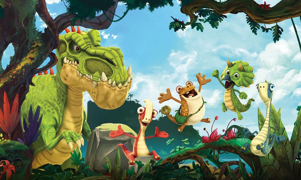 """La terza stagione di """"Gigantosaurus"""" porta nuovi personaggi, luoghi e canzoni su Disney Junior"""