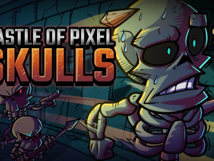 Il videogioco a piattaforma  di Castle of Pixel Skulls