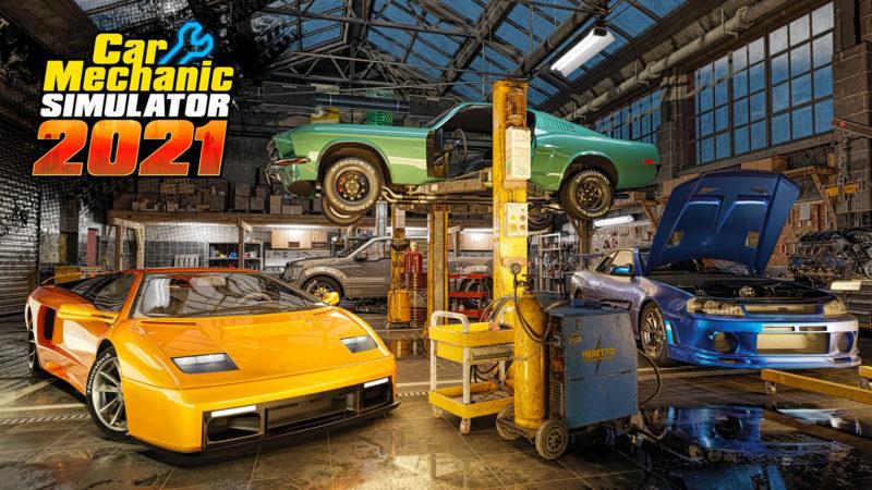 Car Mechanic Simulator 2021 il videogioco che simula un officina meccanica