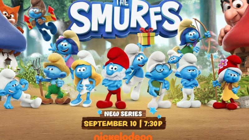"""""""I Puffi"""" la nuova serie in anteprima il 10 settembre su Nickelodeon"""