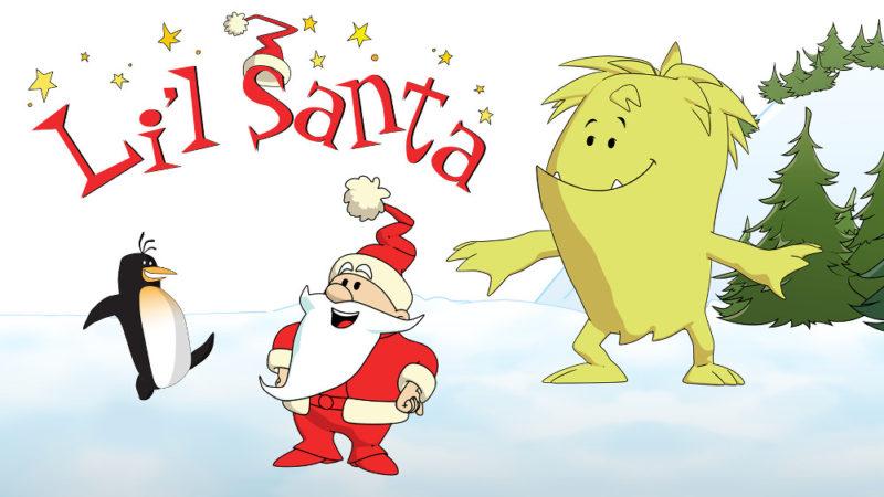 Toonz & K6 diffondono l'allegria natalizia con 'Li'l Santa'