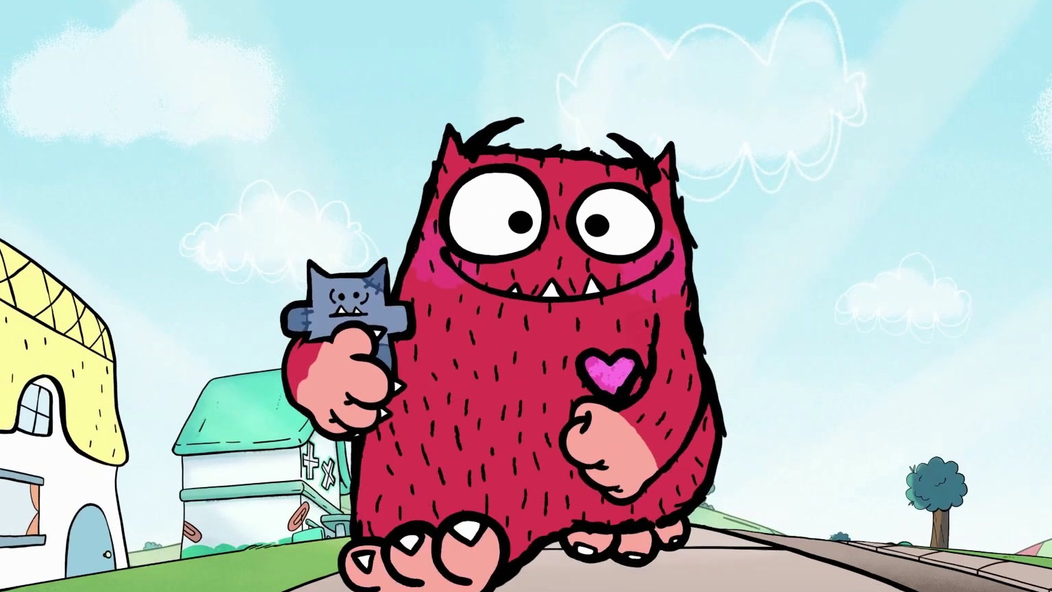 Un amore di mostro la serie animata su Boomerang