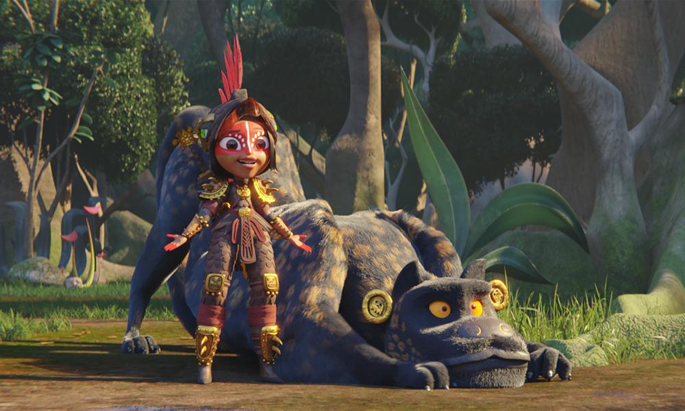 "Il nuovo trailer di ""Maya e i tre guerrieri"" di Jorge Gutiérrez su Netflix"