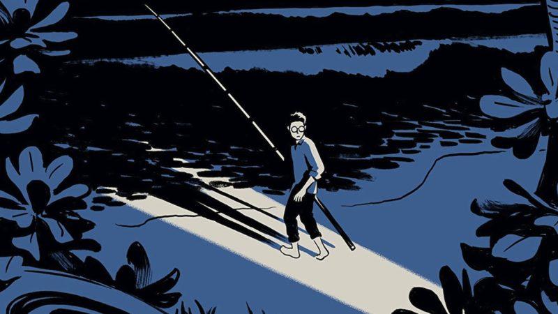 Night Fisher, il fumetto graphic novel di Kikuo Johnson!