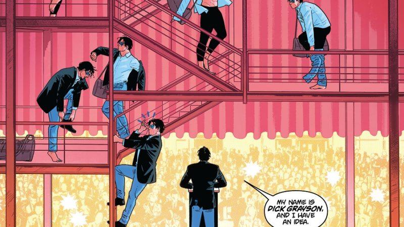 Il fumetto DC Nightwing n.83: Dick Grayson e Melinda Zucco… Lavorano insieme?
