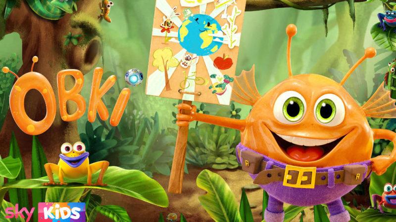 """""""Obki"""" la nuova serie animata per bambini sui cambiamenti climatici"""