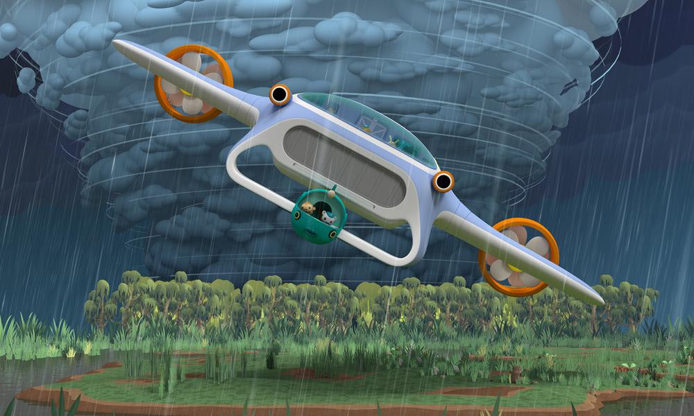"""""""Gli Octonauti: In missione sulla Terra"""" la serie animata per bambini su Netflix"""