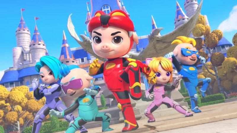 "Winsing Animation cinese lancia la serie ""GG Bond: Kung Fu Pork Choppers"""