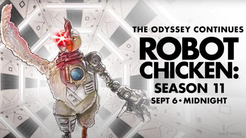 """Il trailer dell'undicesima stagione di """"Robot Chicken"""""""