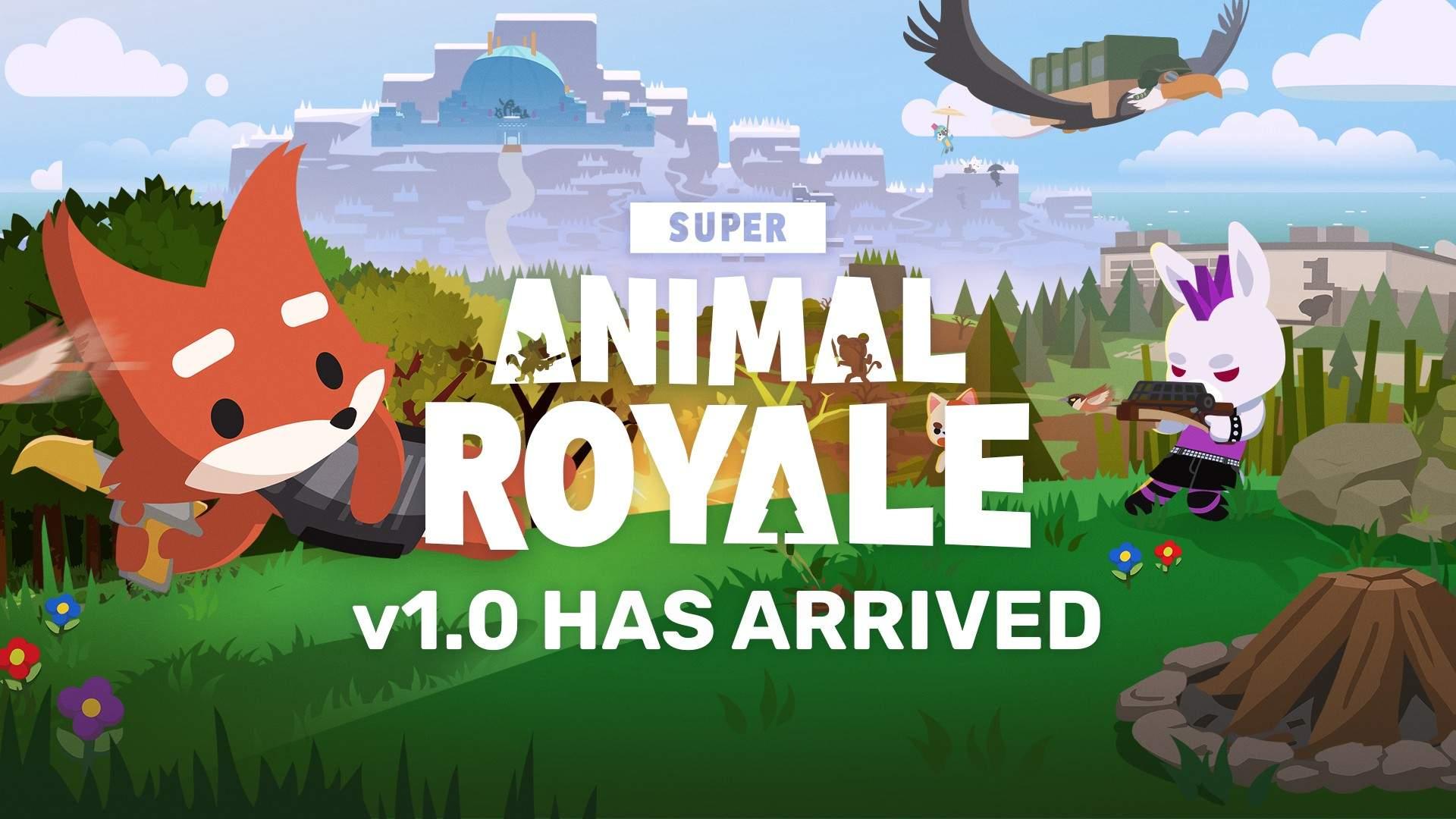 Super Animal Royale 1.0 è ora disponibile con animali domestici, potenziamenti, prima stagione e altro