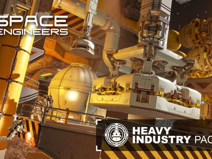 Il videogioco Space Engineers Heavy Industry sull'ingegneria spaziale