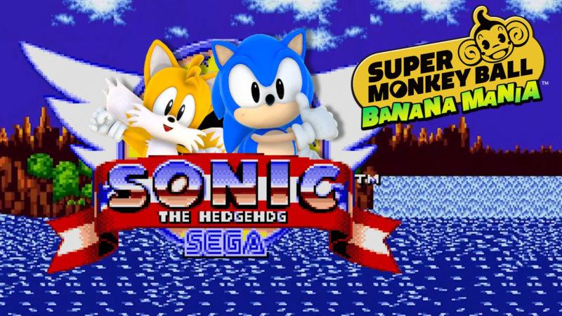Sonic e Tails si uniscono alla banda di Super Monkey Ball per una festa di compleanno speciale
